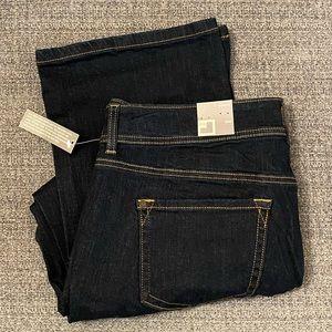 Dark wash JCP bootcut jeans